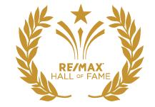 Dennis Paradis Realtor -  RE/MAX Hall of Fame Award