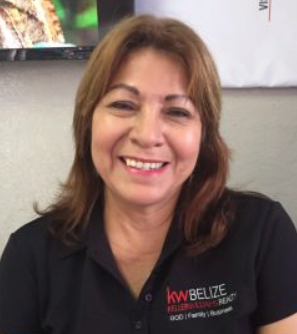 Belize Keller Williams Rainforest Realty Agent Lupita Ferguson