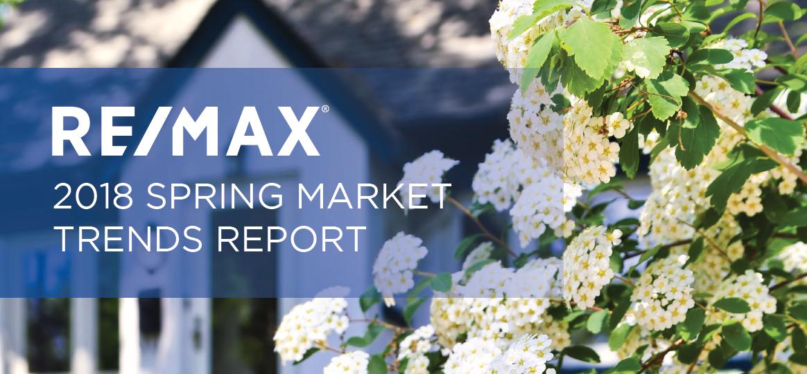 REMAX spring market trends report 2018