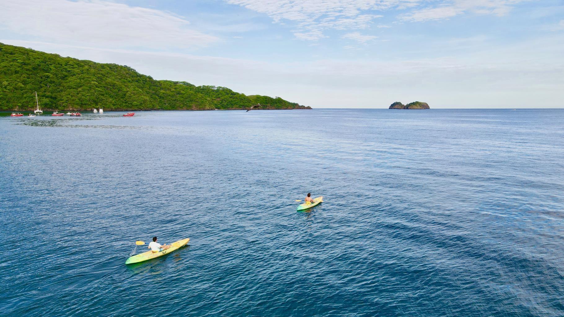 Kayaking in Playa Hermosa