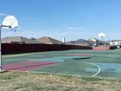Basketball court at Post Oak