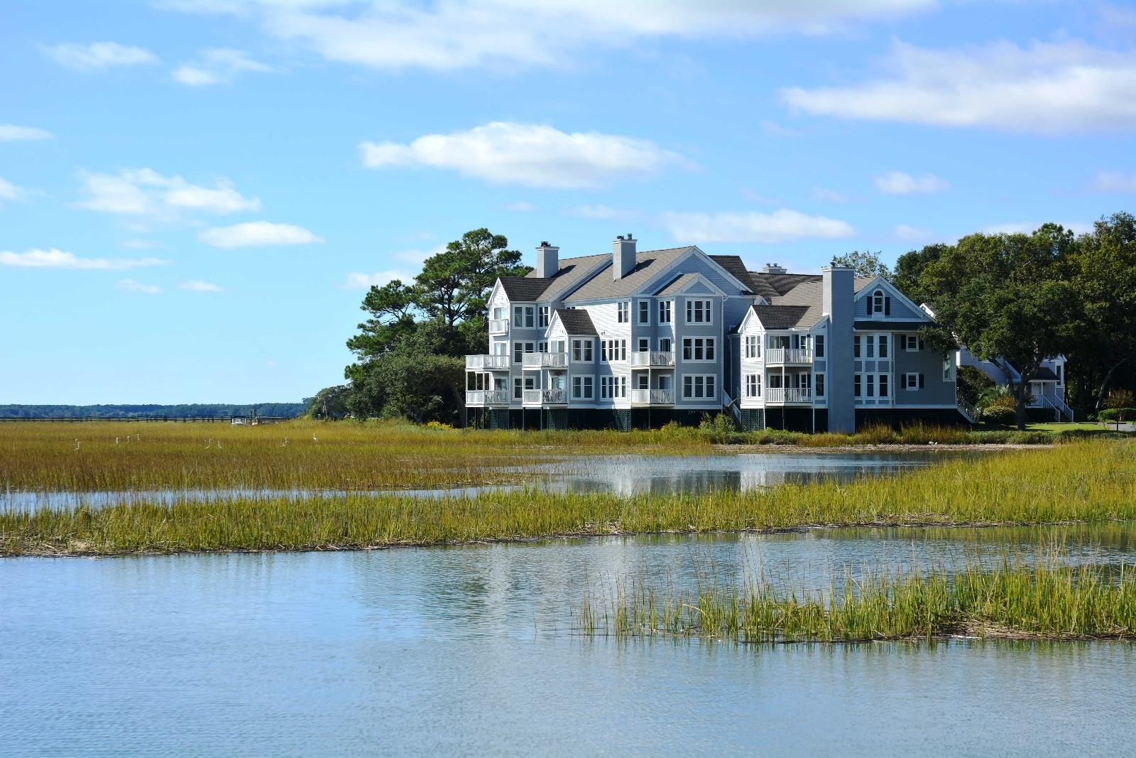 deep waterfront luxury home in the Charleston SC area