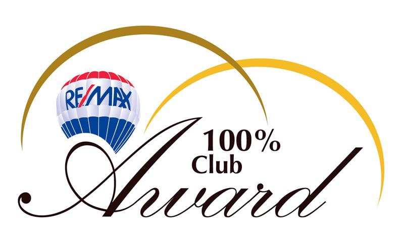 remax 100% club award winner