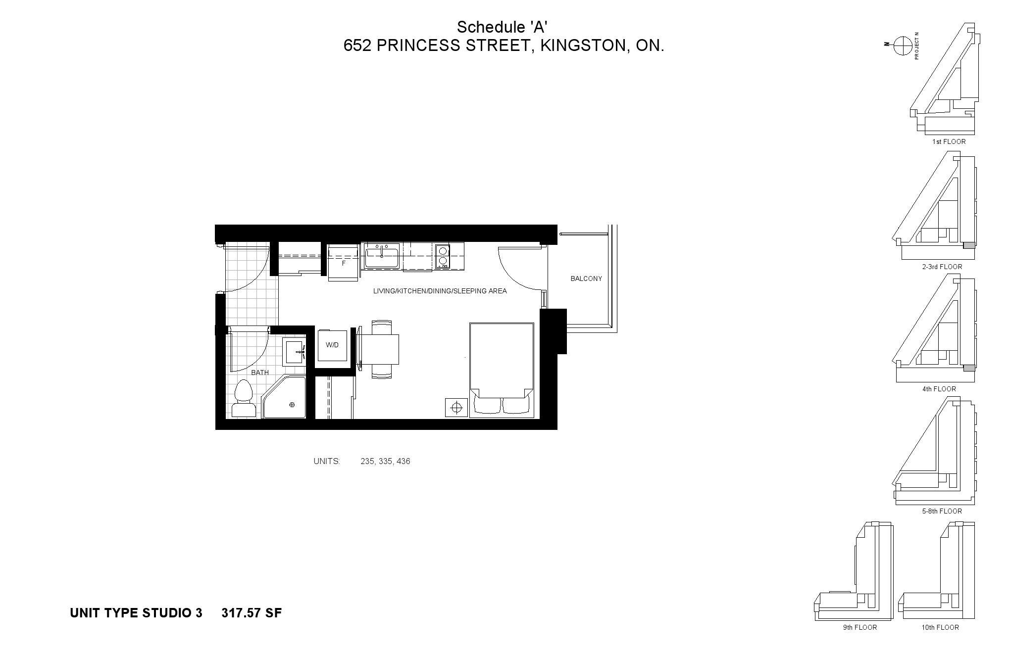 Sage Kingston Condos Floor Plans