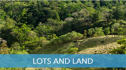 Lots and Land for sale in Costa Rica