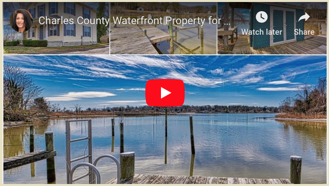 Newburg Waterfront Property with Like New Home - Located in Rock Point, in Charles County MD - Listed by Marie Lally, Realtor with O'Brien Realty of Southern Maryland