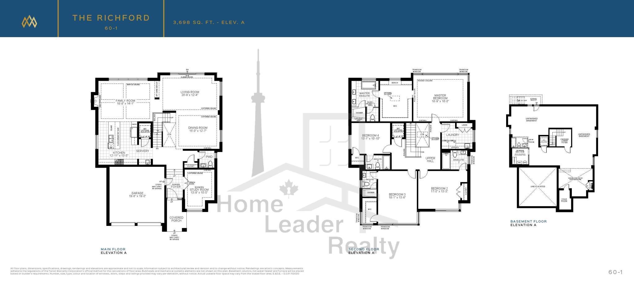 Royal Hill Floor Plan
