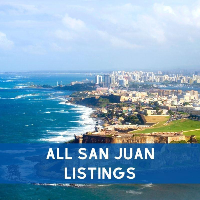 All San Juan property listings for sale