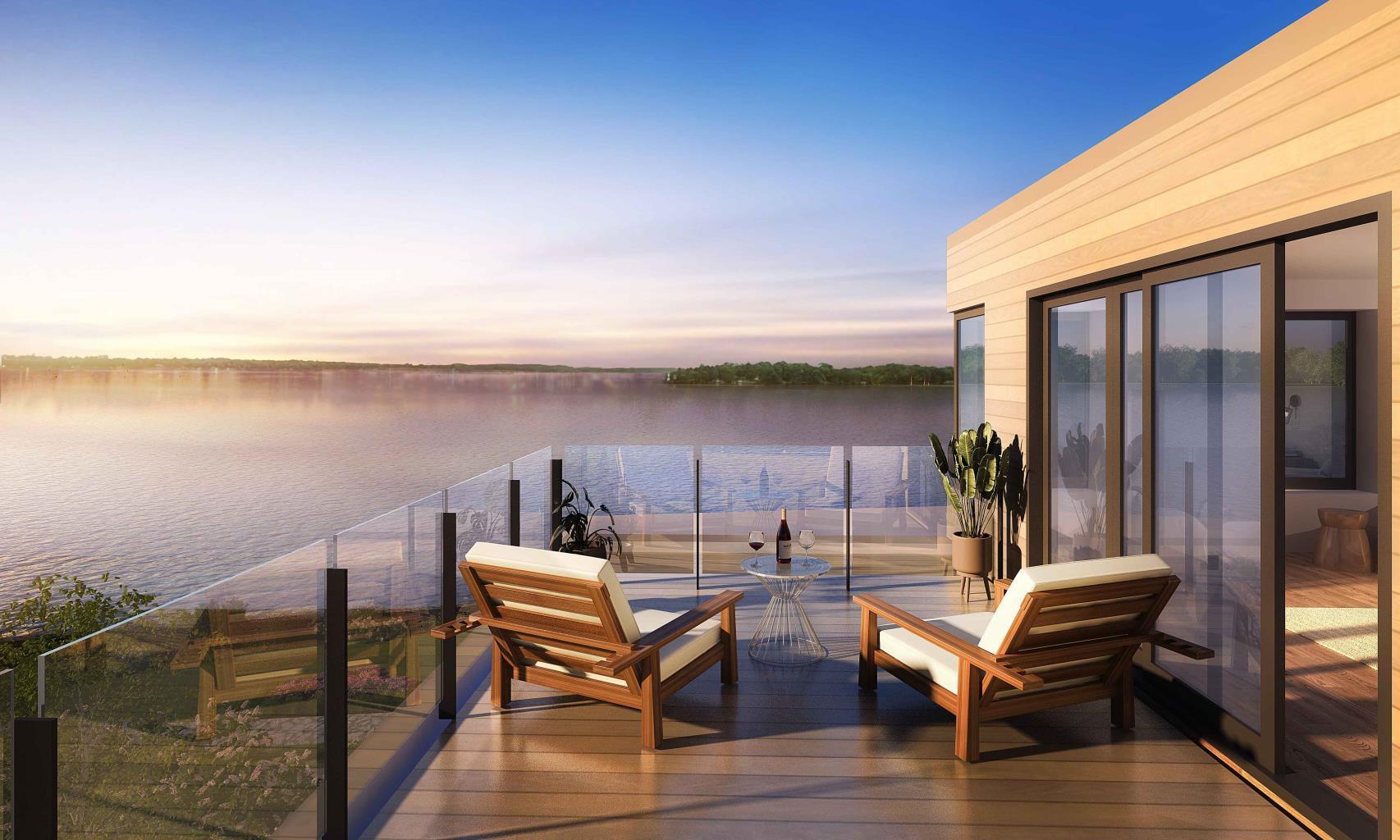 Fenelon Lakes Club-Terrace