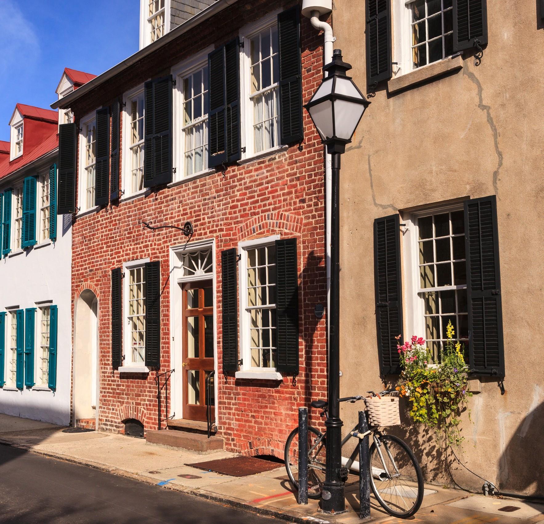 Downtown Charleston Brick Building