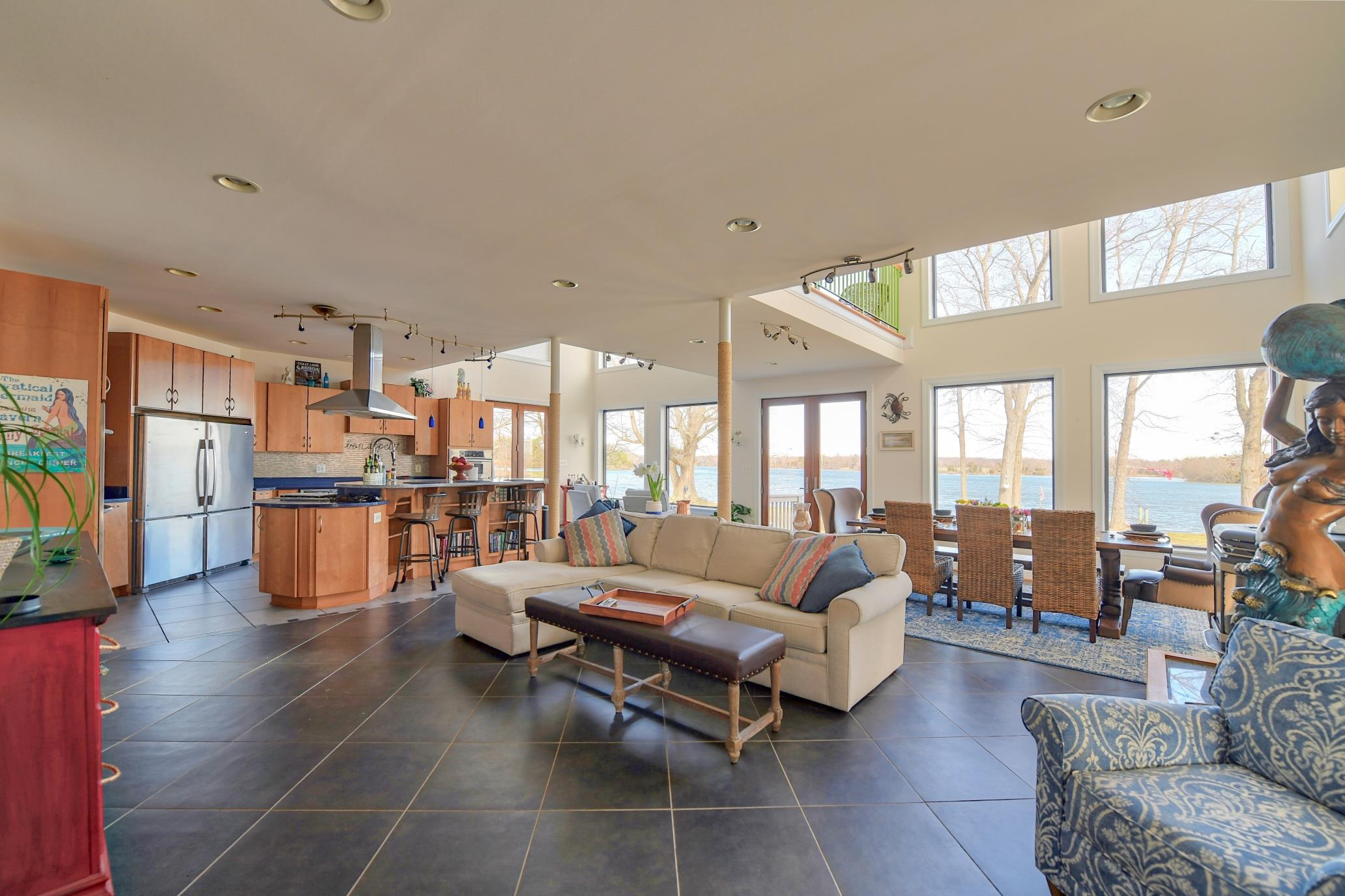 38800 Chasko Road in Abell MD, Saint Mary's County is a custom built contemporary home on Canoe Neck Creek.  This is a fabulous waterfront property, Listed by Marie Lally, Realtor with O'Brien Realty of Southern Maryland!  Marie is your Southern MD, and St Mary's County Waterfront Specialist!  The Best of Southern MD!