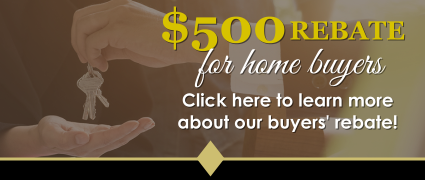 $500 Rebate for Home Buyers