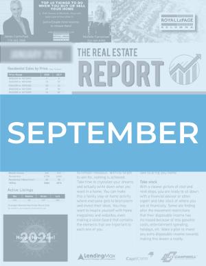 September 2020 Okanagan Real Estate Report