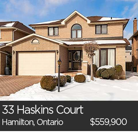 33 haskins court hamilton