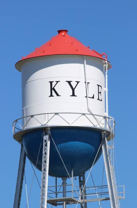 Kyle Iconic Water Tower