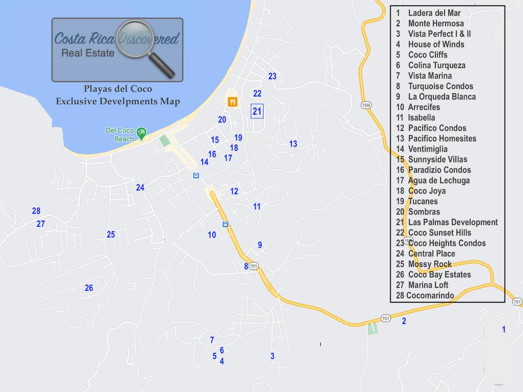 Playas del Coco Exclusive Developments