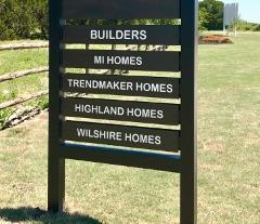 Builders in Kyle's 6 Creeks community.