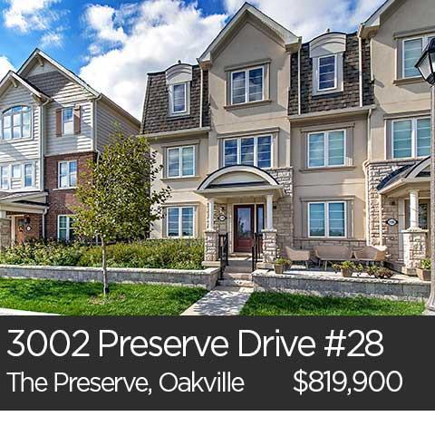3002 preserve drive unit 28 oakville ontario