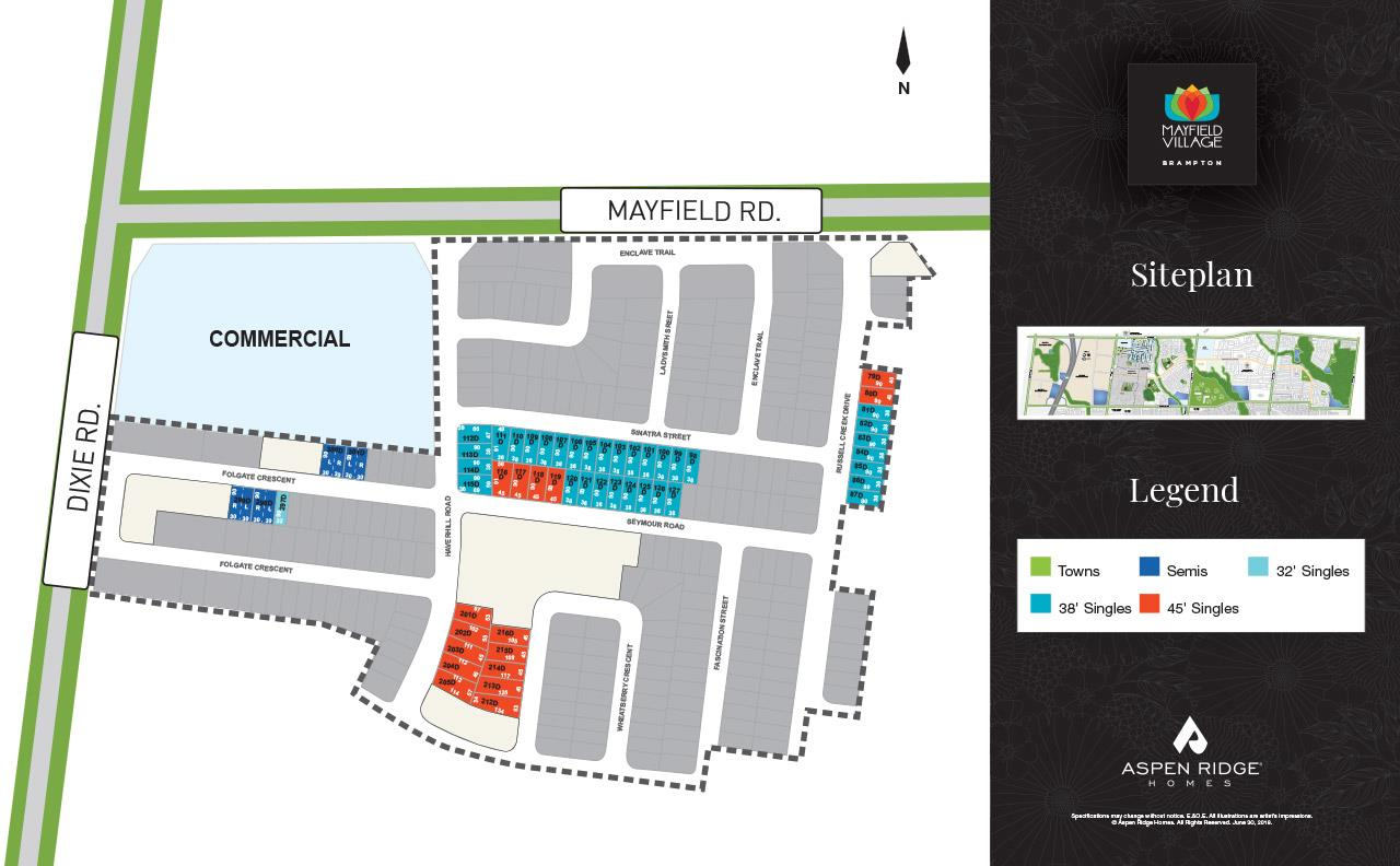 Queensville Site Plan