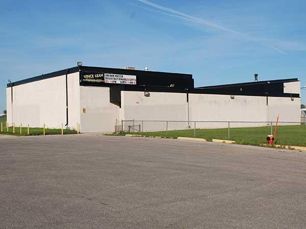 Vince Leah Recreation Centre in the neighbourhood of Margaret Park Winnipeg Manitoba