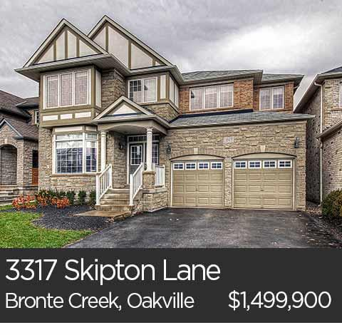3317 Skipton Lane bronte creek oakville