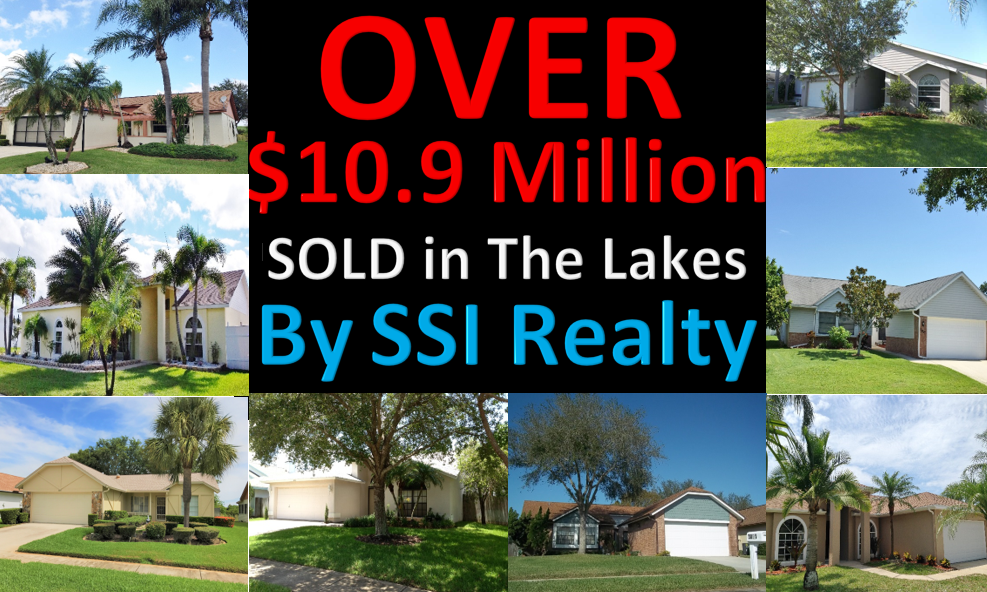 Over $10.9 Million Sold in Real Estate in The Lakes