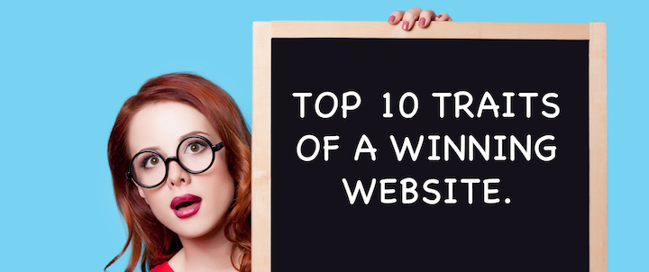 Top Ten Traits of a Winning Website