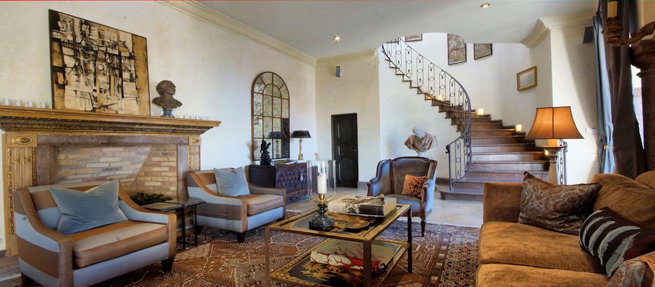 San Miguel de Allende Real Estate Agave - Revueltas Staircase slide