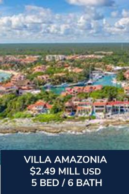 Casa Amazonia Caleta Xel-Ha, Suite 35 Oceanfront Villas