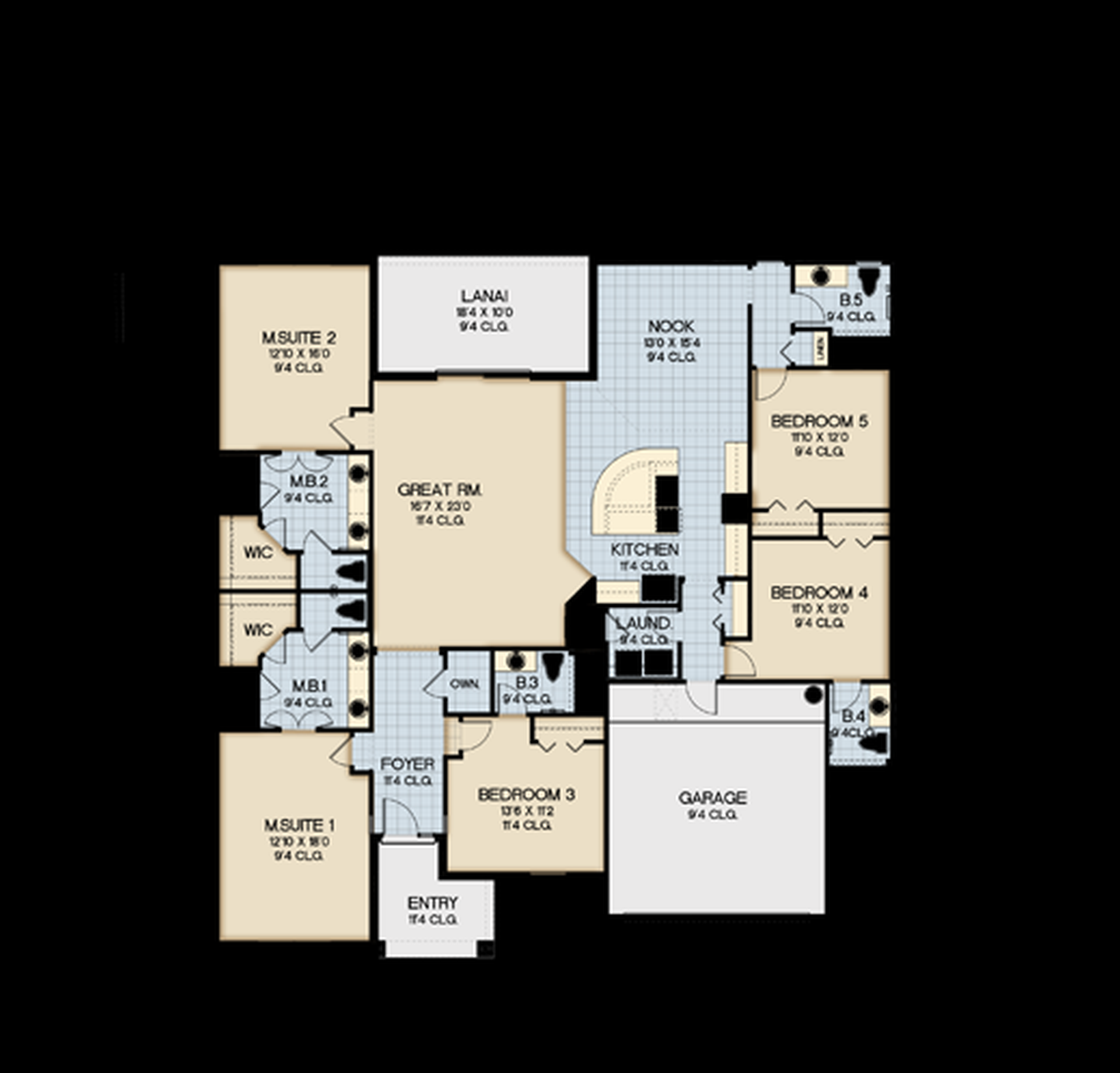 Merzano Floor Plan