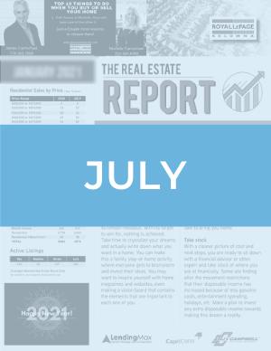 July 2020 Okanagan Real Estate Report