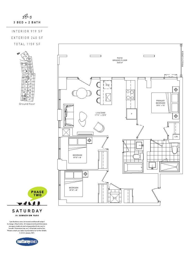 Downsview Park Phase 2 - Floor Plan