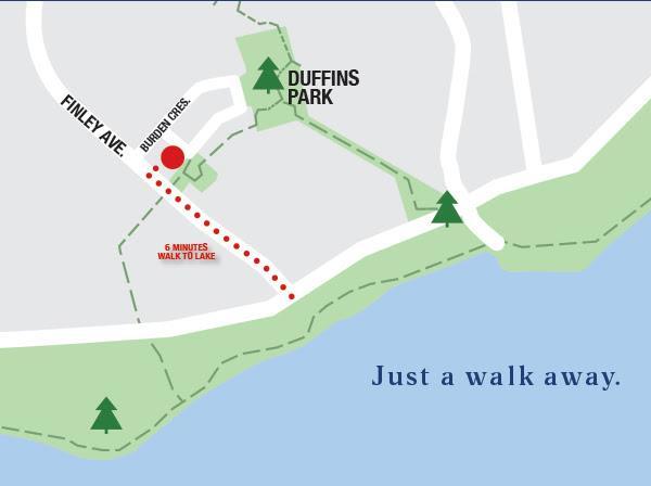 Lakewalk towns site plan