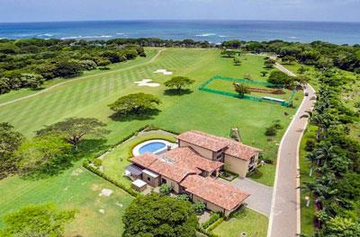 Hacienda Pinilla real estate by the golf course and the beach