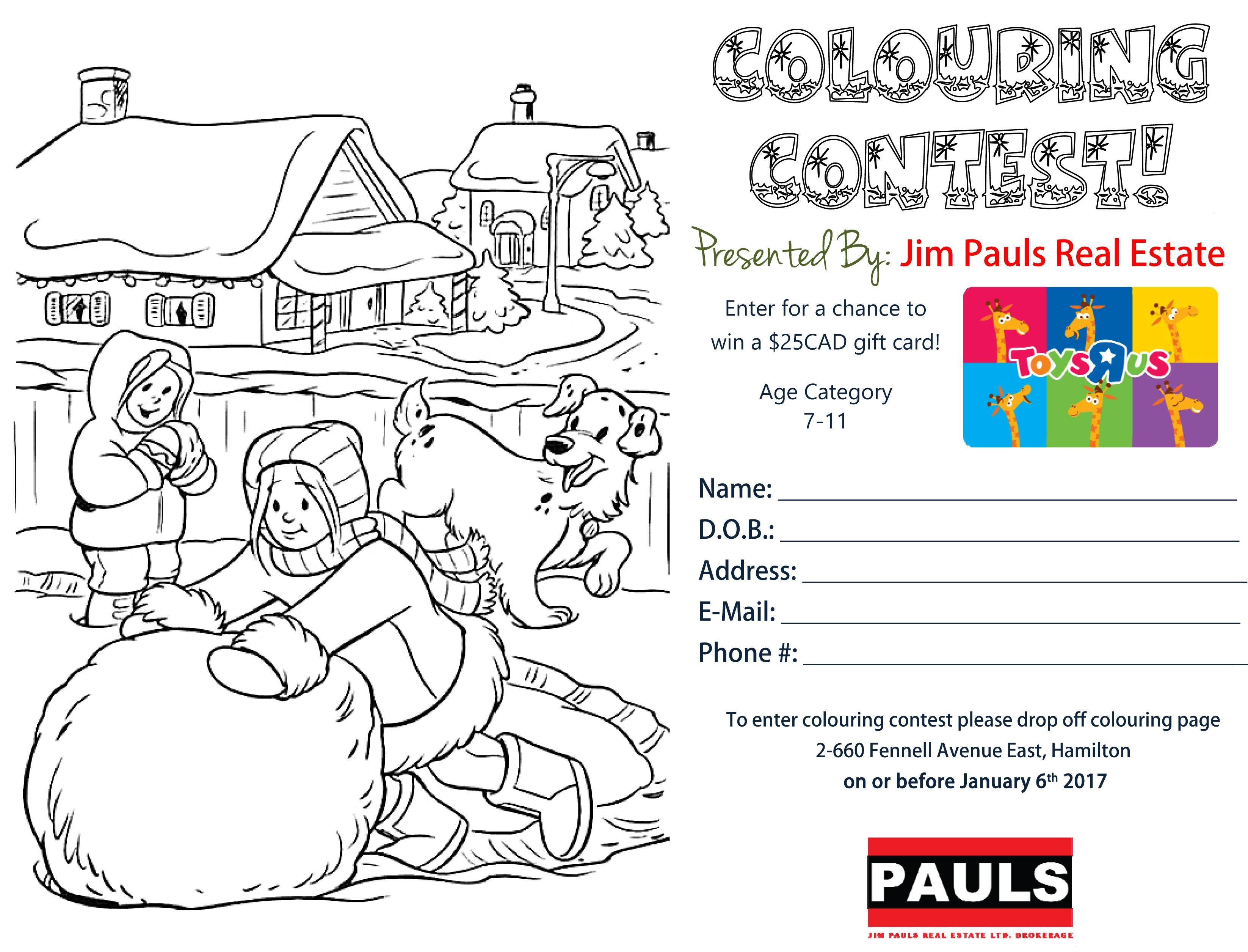 7-11 Colouring Contest