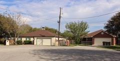 A view of the neighborhood in Hidden Oaks Kyle