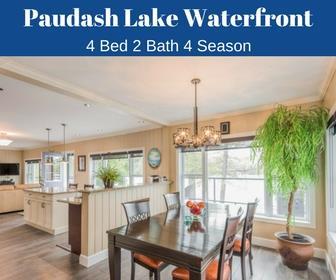 Paudash Lake Waterfront 4 Season Home or Cottage