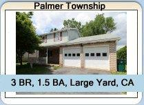 Home For Sale in Palmer Township