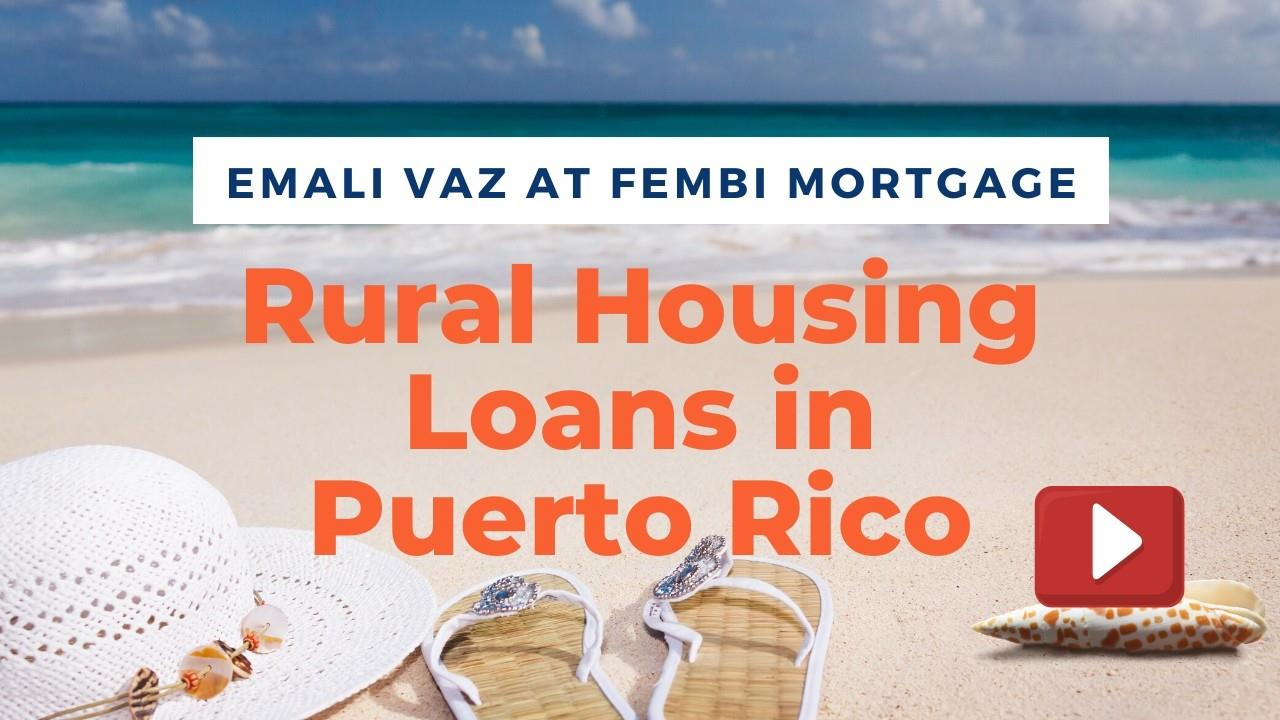 Rural Housing Loans