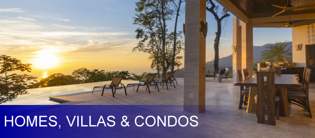 Dominical Homes / Villas / Condos