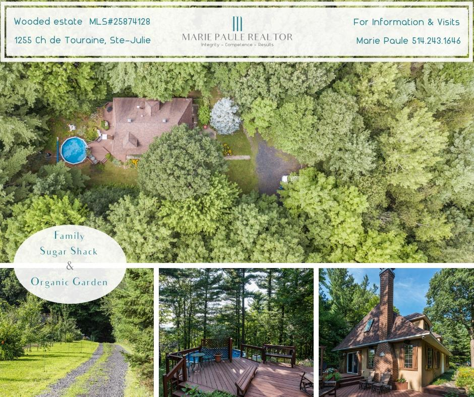 mareipauleREALTOR MLS 25874128-Beautiful Normandy-style home on private wooded estate