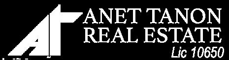 Anet Tanon Real Estate | Lic. 10650