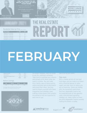 February 2021 Okanagan Real Estate Report