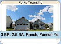 Forks Township Ranch Home For Sale
