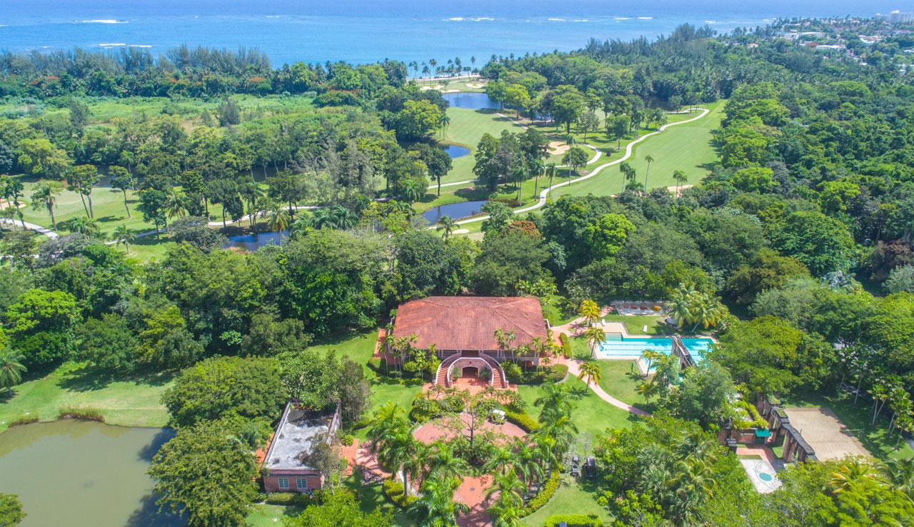 Unique Properties Puerto Rico Dorado Beach East Aerial