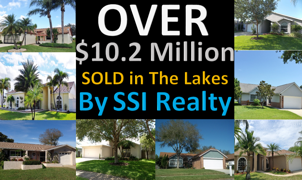 Over $9.9 Million Sold in Real Estate in The Lakes