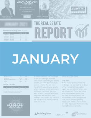 January 2021 Okanagan Real Estate Report