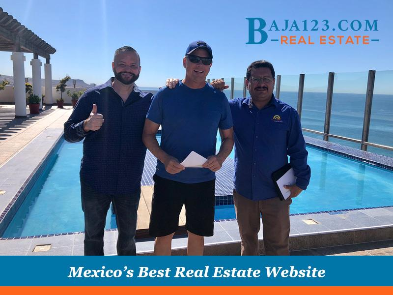 the sky (pool) is the limit for our clients at Baja123