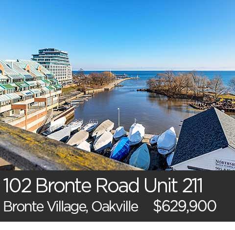 bronte village condos for sale