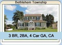 Home For Sale in Bethlehem Township